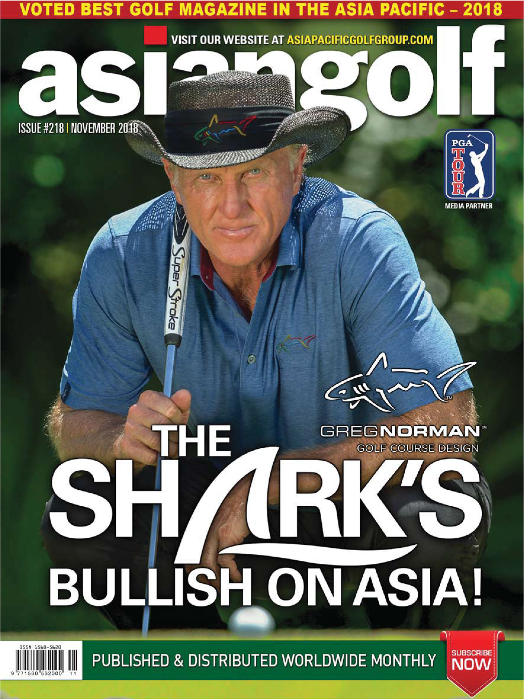 Asian Golf Magazine November 2018